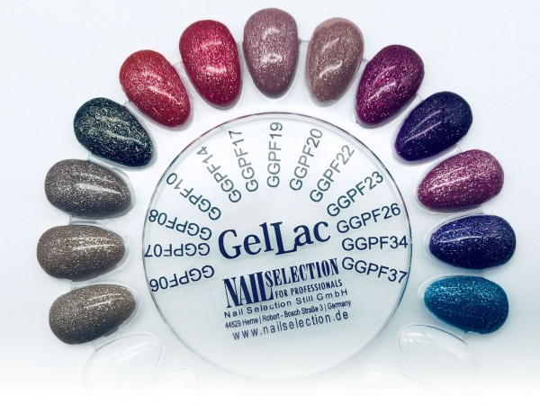 Perfect Finish Gel Lac Glitter