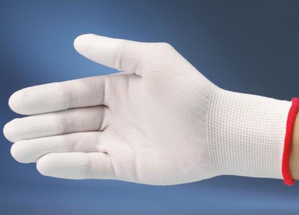 Baumwollhandschuhe mit Silikonfingerspitzen