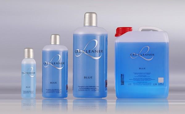Gel Cleaner, Blau