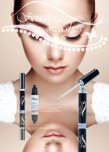 Poster Sensitive Lashes