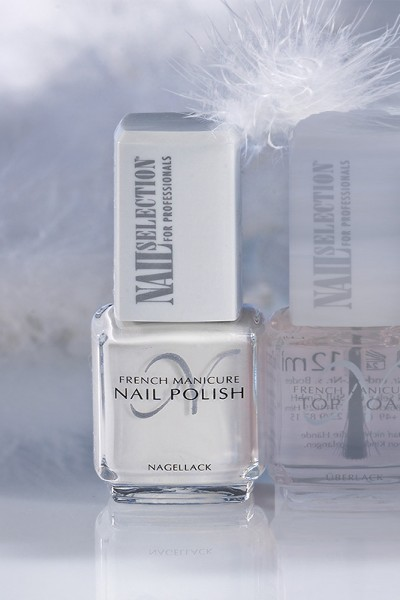 French Manicure-Lacke