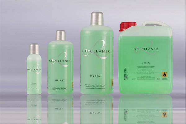 Gel Cleaner, Grün