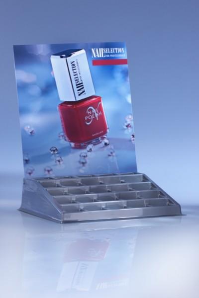 Nagellack-Display, für 25 Flaschen